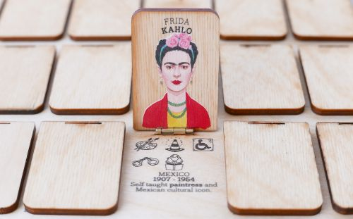 Who's She: A Laser-Cut Guessing Game That Celebrates Accomplished Women Throughout History