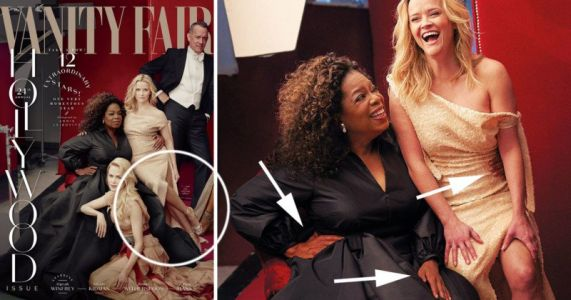 Vanity Fair Gives Reese Witherspoon and Oprah Extra 'Leg' and Hand