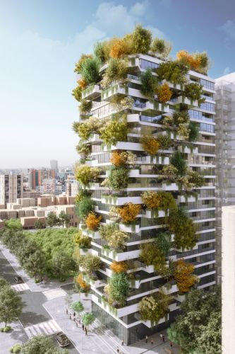 Stefano Boeri Architetti Creates a Vertical Forest for Tirana 2030 Master Plan