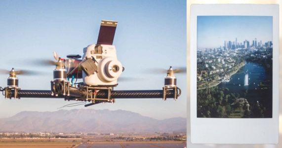 I Built an Instax Drone for Aerial Instant Photos