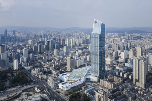 KPF Completes Spring City 66, a Mixed-Use Development in Kunming, China