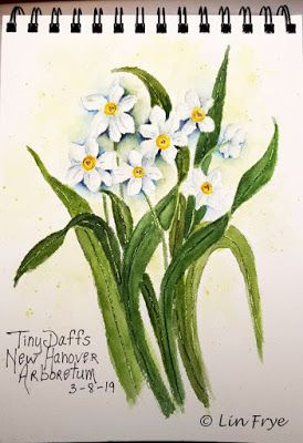 Journal - Tiny Daffodils - Lin Frye