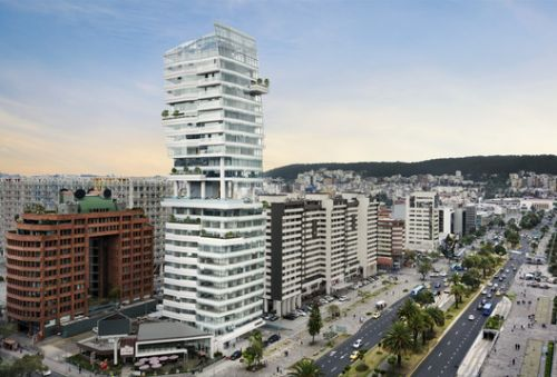 Carlos Zapata Unveils New Mixed-Use Residential Tower in Quito