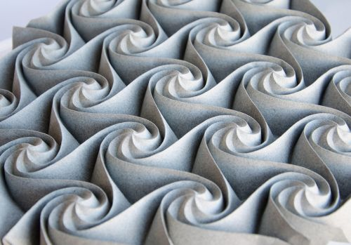 Elaborate Paper Origami Tessellations and Kusudamas by Ekaterina Lukasheva
