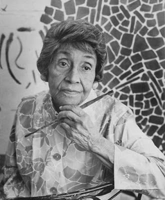Alma Thomas. African American artist of color and joy