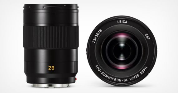 Leica Launches APO-Summicron-SL 28mm f/2 ASPH Lens for L-Mount