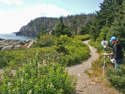 It's Still Not Too Late! Take a Plein Air Painting Workshop with Me in Maine this Summer