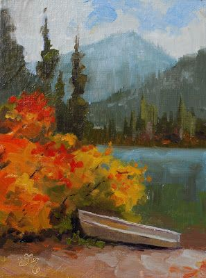 No. 826 Plein Air at Cooper Lake