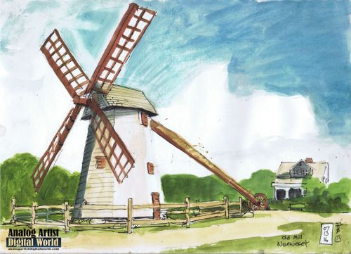The Old Mill in Nantucket