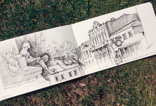 Sketching in the Southest City of Chile: Punta Arenas