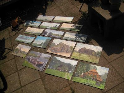 Back from a weeks painting in Vollenhove