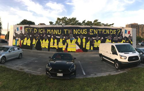 """And from here, Manu , Can you hear us ?"" by MTO in Miami"