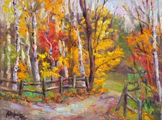 Painting and Photographing in Stowe, VT with Niki Gulley and Scott Williams
