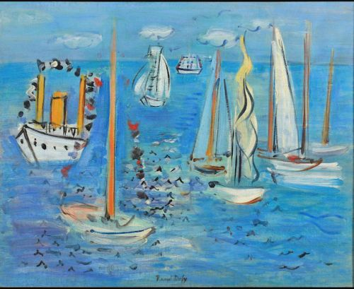 Raoul Dufy. Master of colorful, decorative art