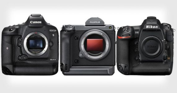 Yes, Fujifilm's GFX100 is the Same Size as Canon and Nikon Flagship DSLRs