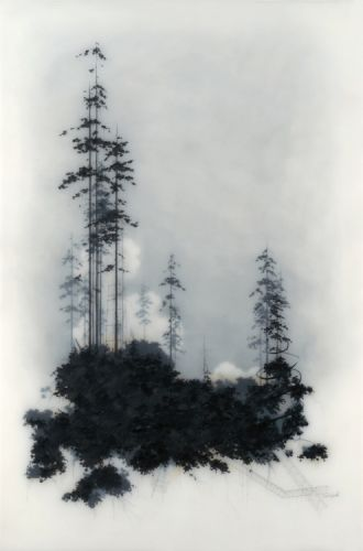 Mixed Media Paintings by Brooks Salzwedel Brooks Salzwedel's