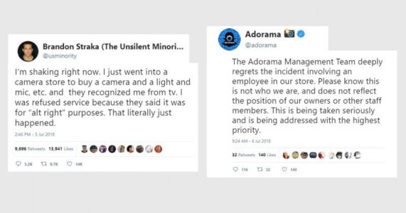 Adorama Apologizes for Employee Who Refused Service Over Politics