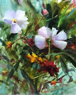 Spring Flowers by artist Pat Meyer