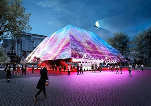 Holographic Pyramid Coming to the Garage Museum in Moscow