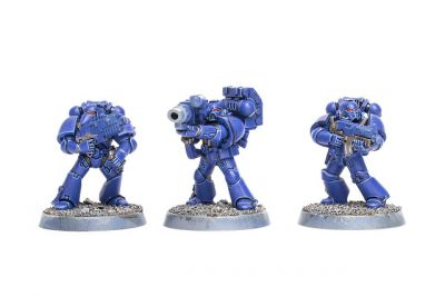 WIP: Ultramarines Tactical Squad 2