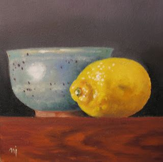 Pottery with Lemon