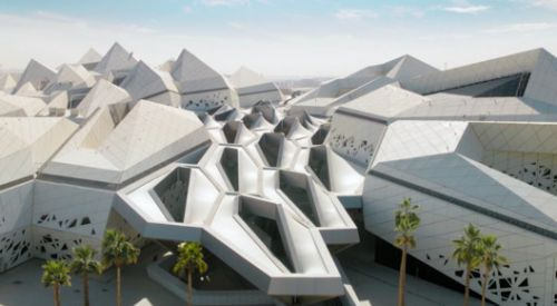 New Video Celebrates the Prismatic Complexity of Zaha Hadid Architects' KAPSARC in Saudi Arabia
