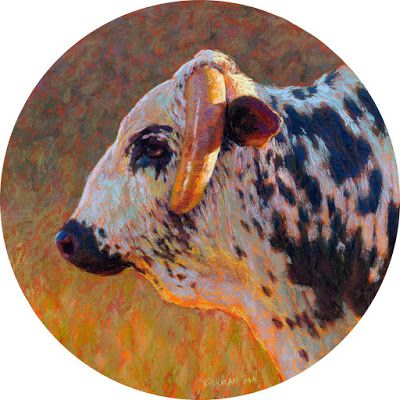Bull Profile 1 - Now at the Carriage House Gallery