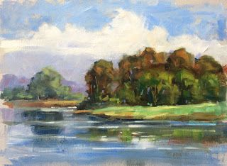 """""""LAKEFRONT SERENITY"""" by TOM BROWN"""