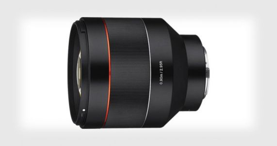 Samyang Unveils the AF 85mm f/1.4 FE for Sony Mirrorless