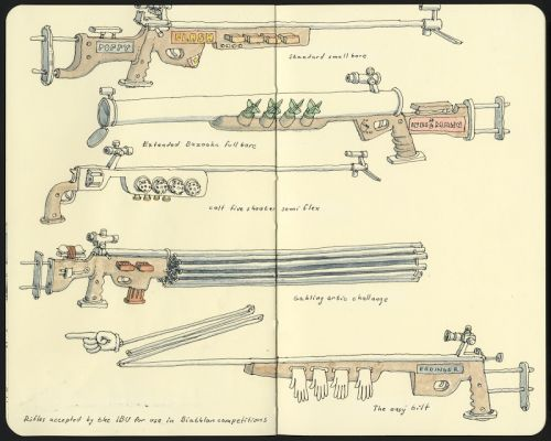 Rifles accepted by the IBU for use in Biathlon competitions