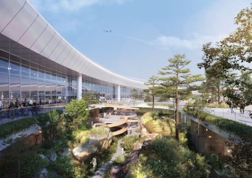 Nordic - Office of Architecture Reveals the Interior Design of Jiangbei International Terminal 3B