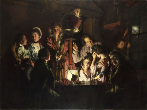 Chiaroscuro and More: Joseph Wright of Derby