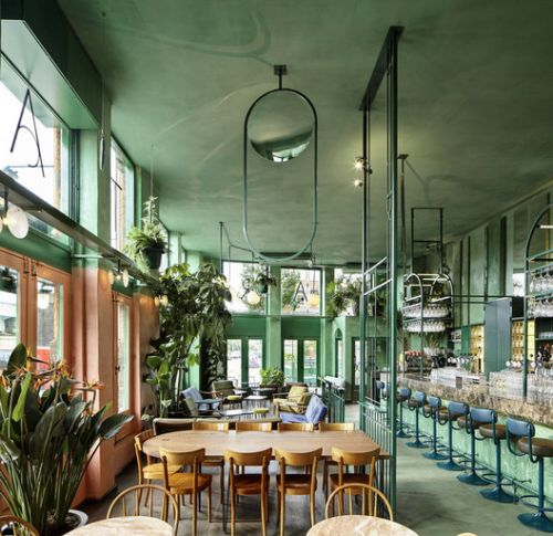Color Beyond Aesthetics: The Psychology of Green in Interior Spaces