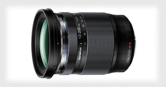 Olympus Unveils the 12-200mm f/3.5-6.3 Lens with 16.6x Zoom