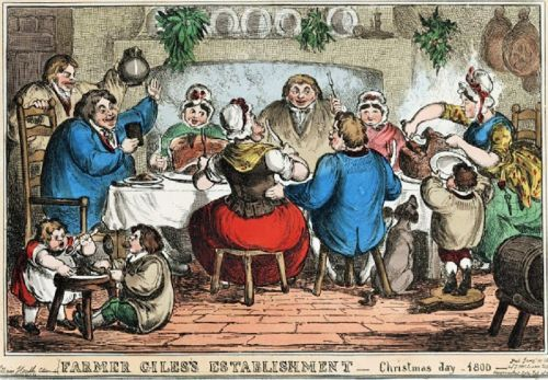 Georgian English Christmas 1714-1820