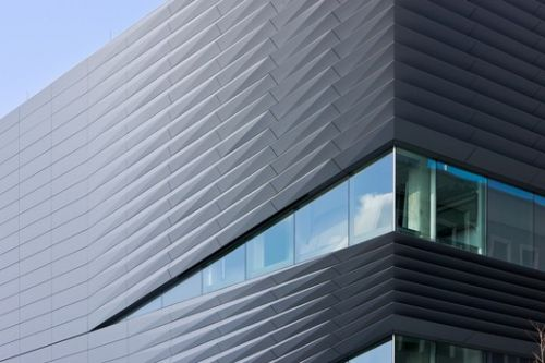 Zinc-Coated Buildings: 20 Recycled and Durable Facades