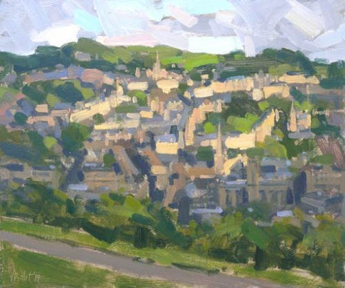 Painting in Bath