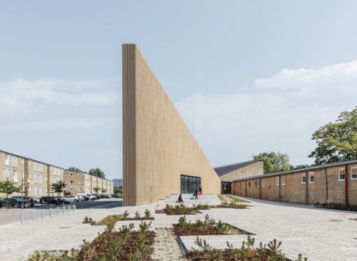 Tingbjerg Library and Culture House / COBE