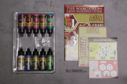 Review: Warpaints Metallic Colours Paint Set by The Army Painter