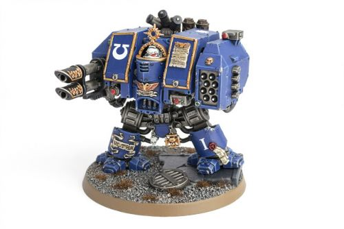 Showcase: Ultramarines Venerable Dreadnought