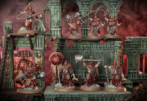 Showcase: Iron Golems from Warcry