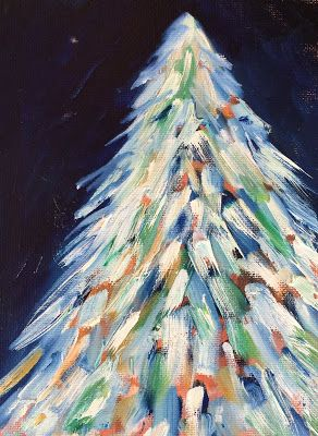 "Holiday Art, ""Winter 2,"" Amy Whitehouse"