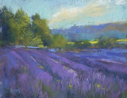 Tips for Painting Lavender!