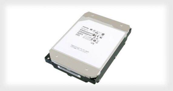 Toshiba Unveils the World's First 14TB Conventional Hard Drive