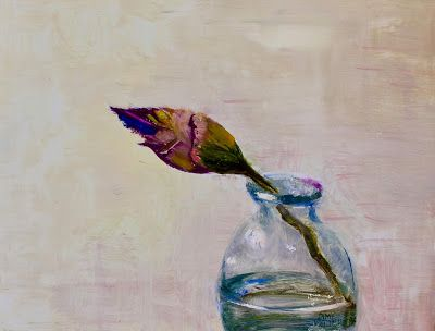 "Contemporary Still Life, ""Bud,"" by Amy Whitehouse"