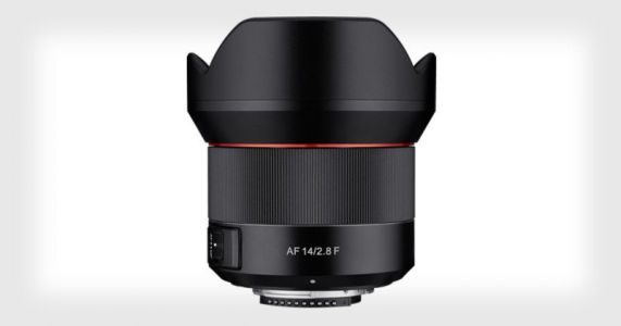 Samyang's New 14mm f/2.8 is Its First AF Lens for Nikon F-Mount Cameras