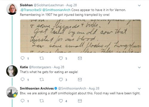 Uncovering History with the Smithsonian Transcription Center