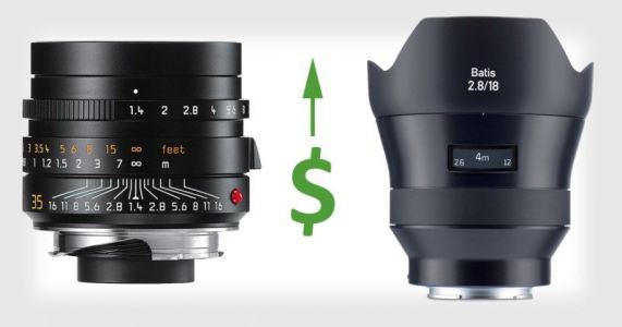 German Camera Lenses May Be 25%+ More Expensive After Friday