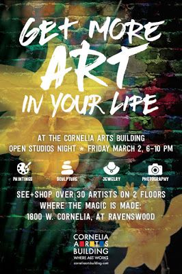 Cornelia Arts Building March 2 Open House