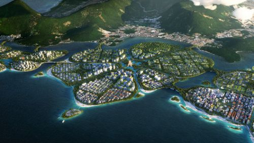 BIG, Hijjas and Ramboll Win International Competition to Design a Master Plan for Penang South Islands, Malaysia